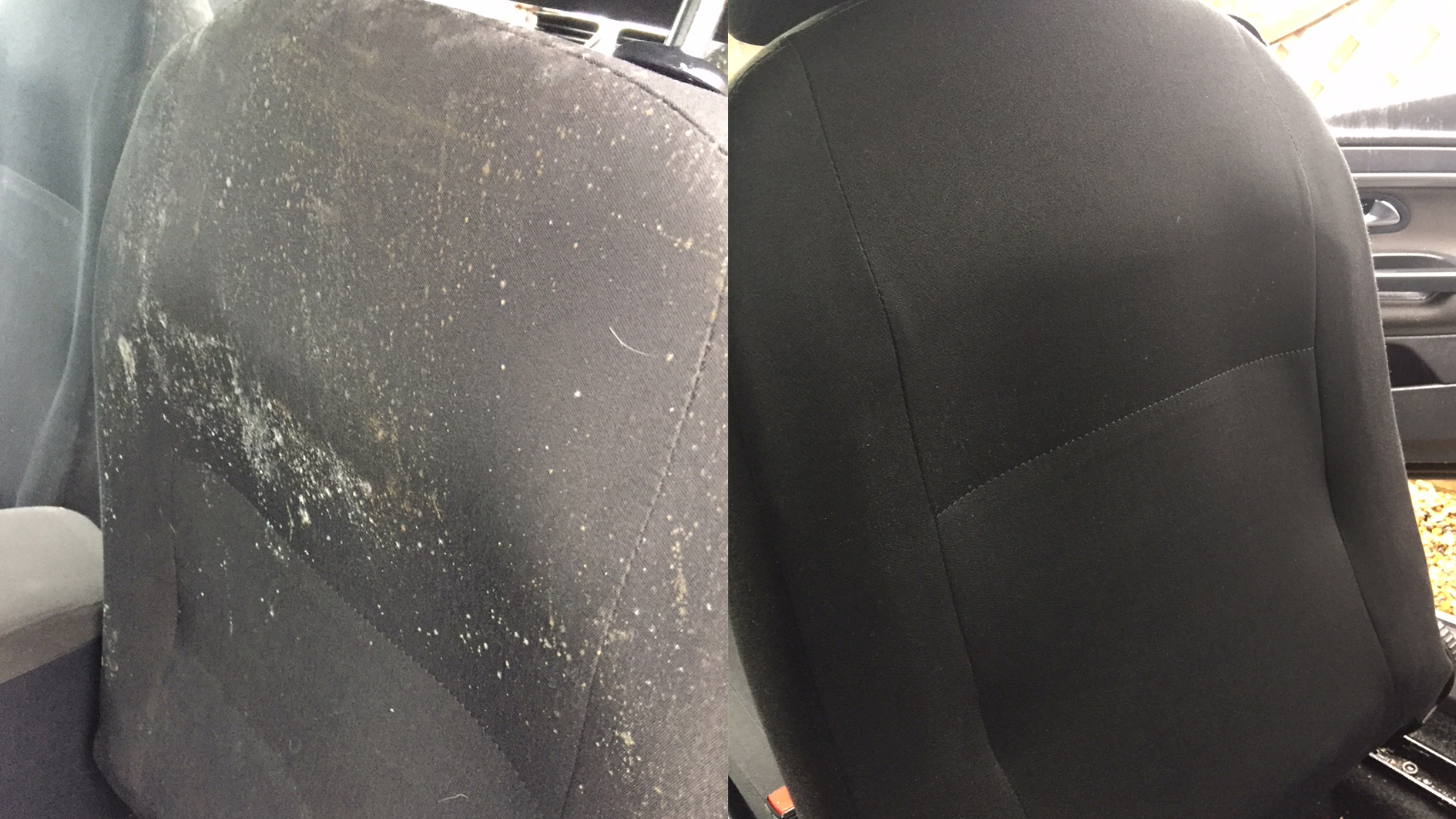 Car upholstery clean