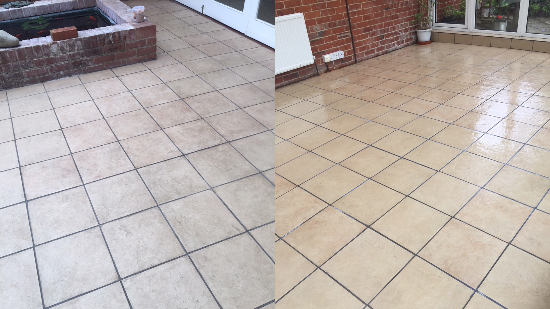 deep floor clean and polished